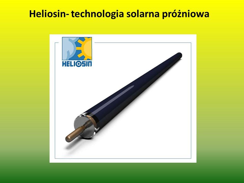 Heliosin- technologia solarna próżniowa
