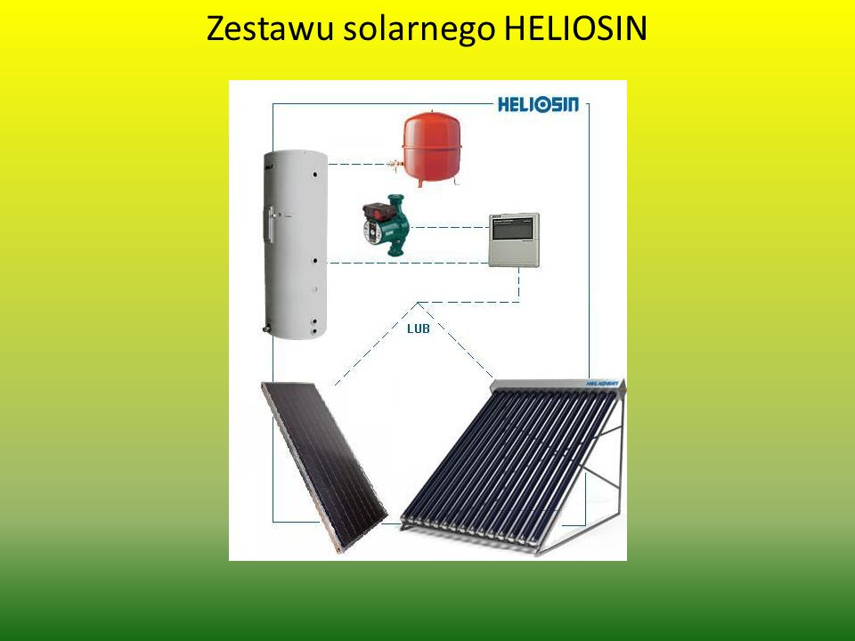 Zestawu solarnego HELIOSIN