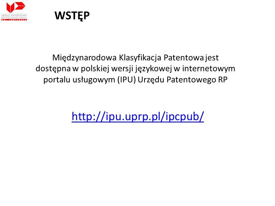 WSTĘP http://ipu.uprp.pl/ipcpub/