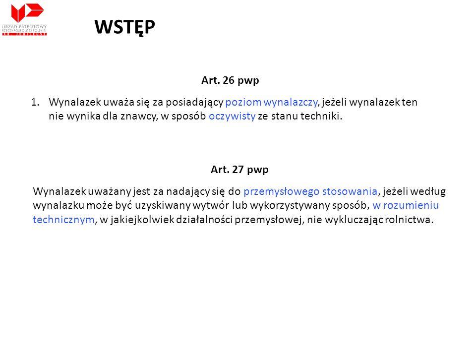 WSTĘPArt. 26 pwp.