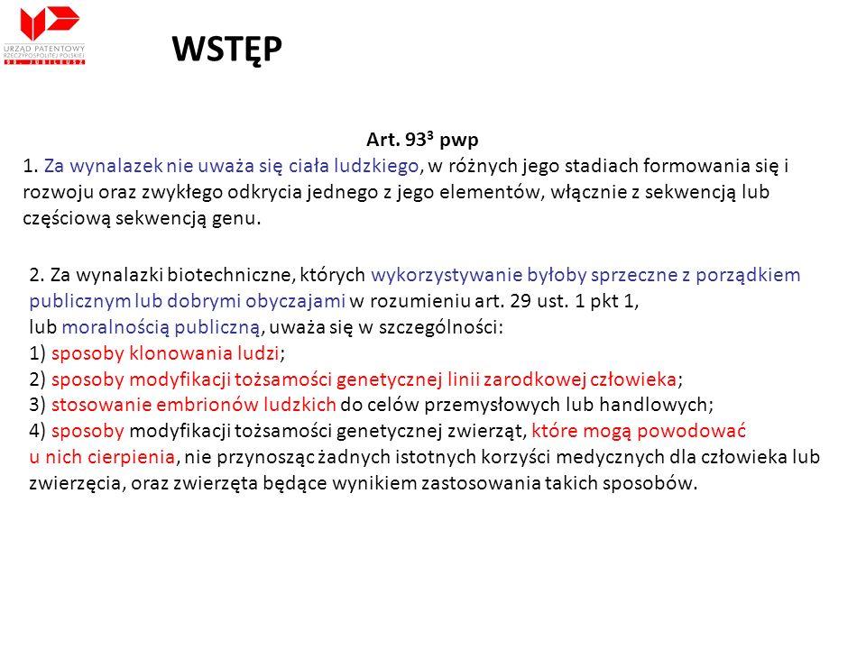 WSTĘP Art. 933 pwp.