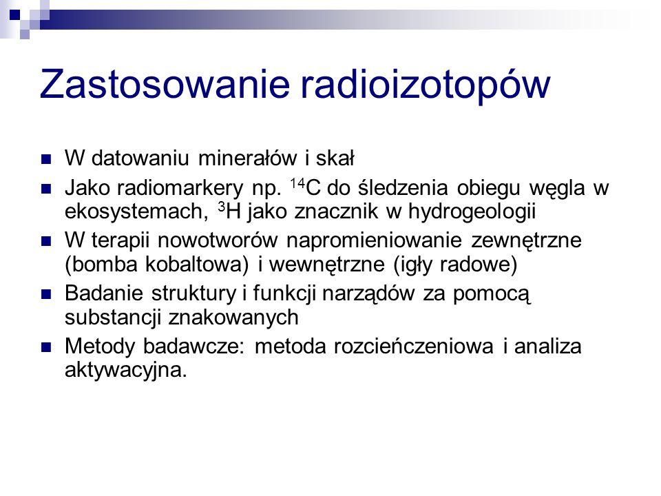 Zastosowanie radioizotopów