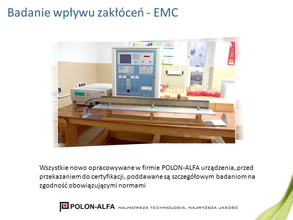 Badanie wpływu zakłóceń - EMC