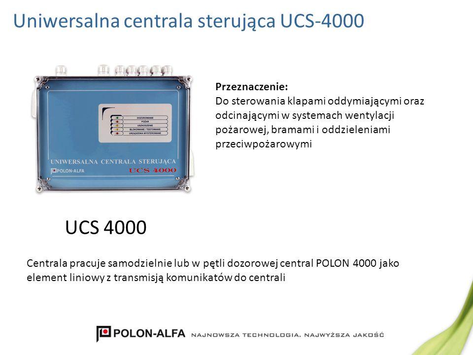 Uniwersalna centrala sterująca UCS-4000