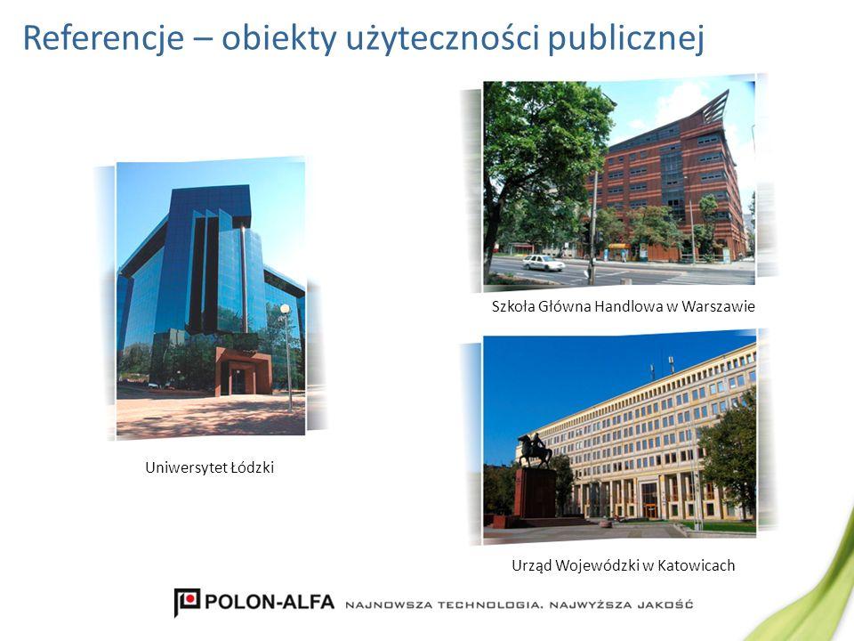 Referencje – obiekty użyteczności publicznej