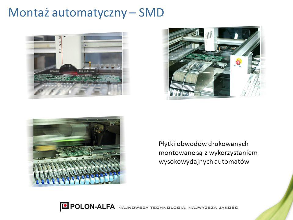 Montaż automatyczny – SMD