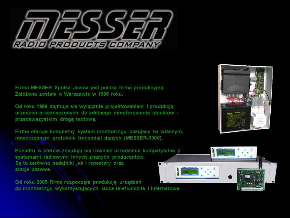 Firma MESSER Spółka Jawna jest polską firmą produkcyjną