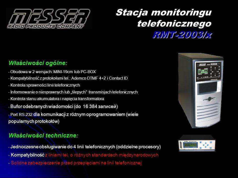 Stacja monitoringu telefonicznego RMT-2003/x