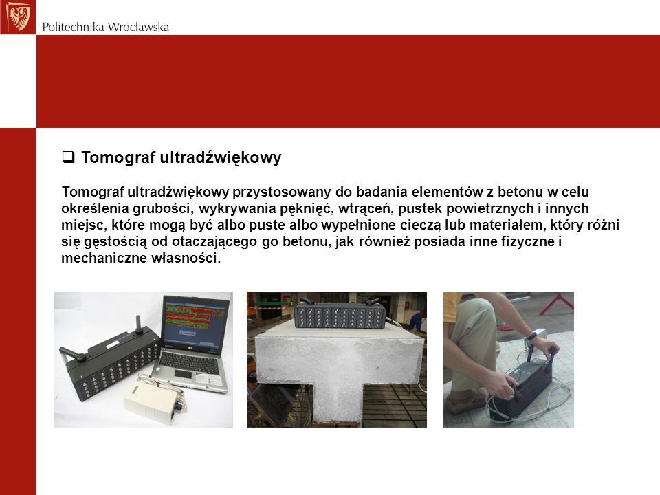 Tomograf ultradźwiękowy