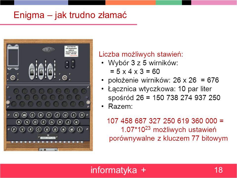 Enigma – jak trudno złamać