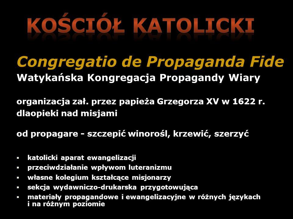 Kościół katolicki Congregatio de Propaganda Fide