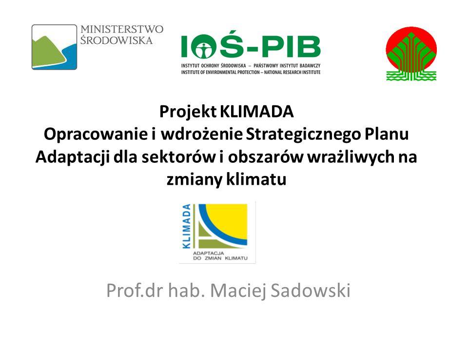 Prof.dr hab. Maciej Sadowski