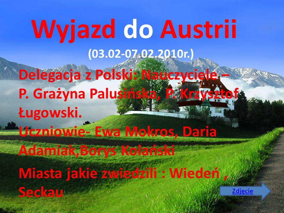 Wyjazd do Austrii (03.02-07.02.2010r.)