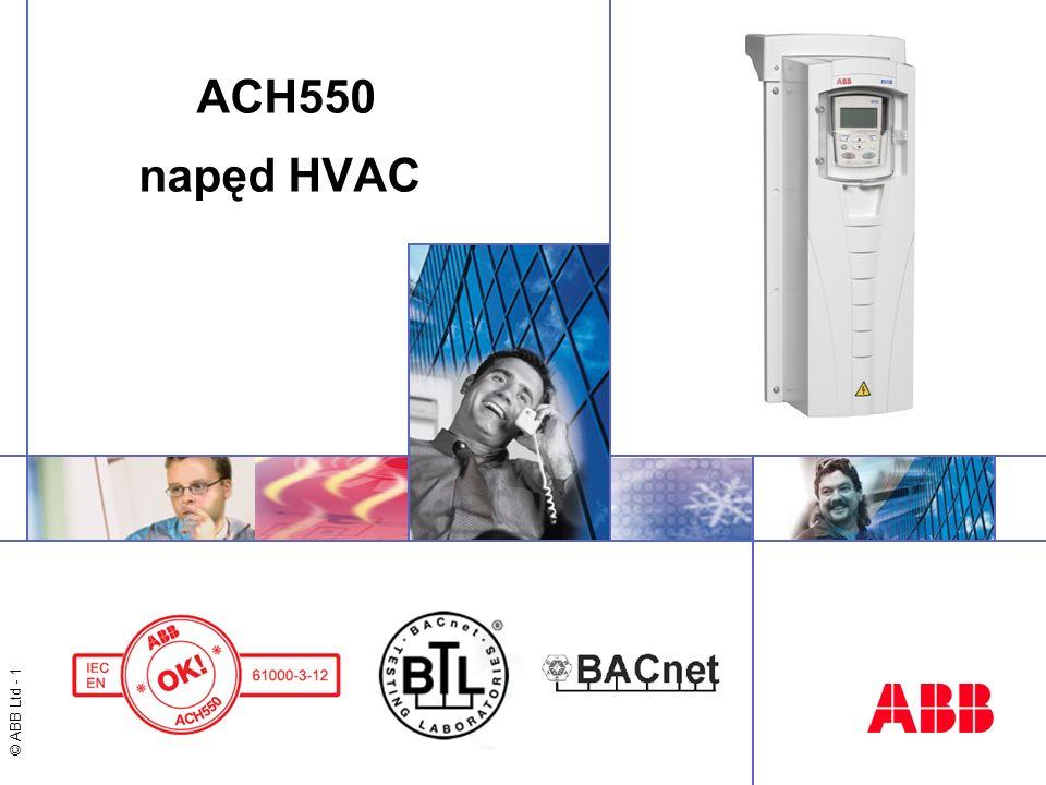 ACH550 napęd HVAC