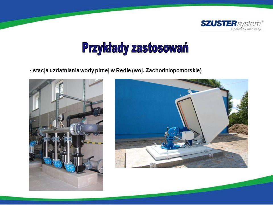 Przykłady zastosowań stacja uzdatniania wody pitnej w Redle (woj. Zachodniopomorskie)