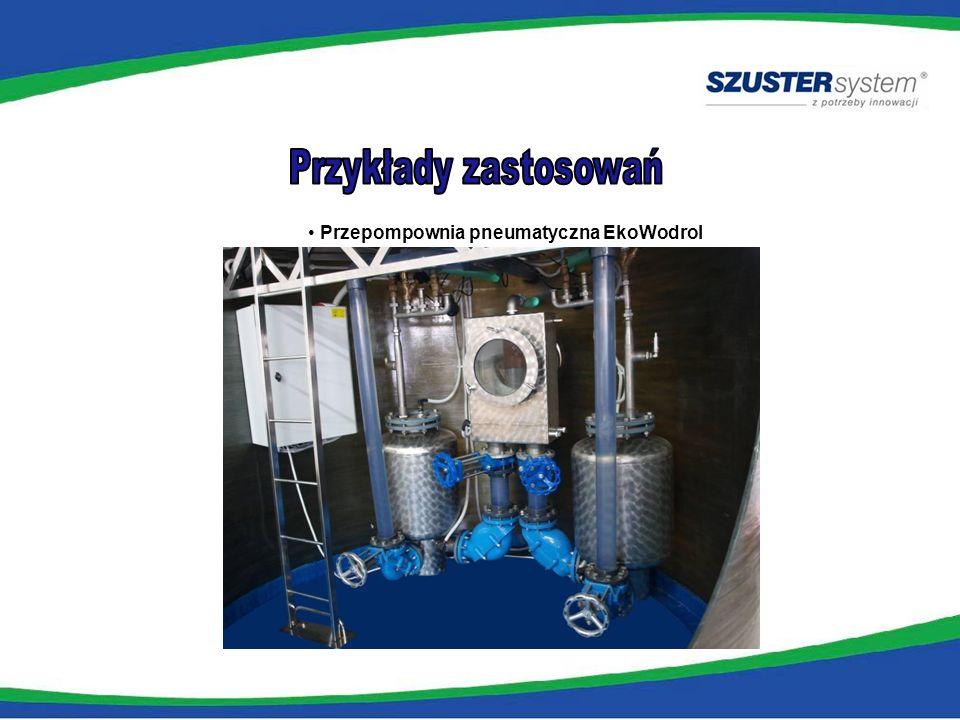 Przykłady zastosowań Przepompownia pneumatyczna EkoWodrol