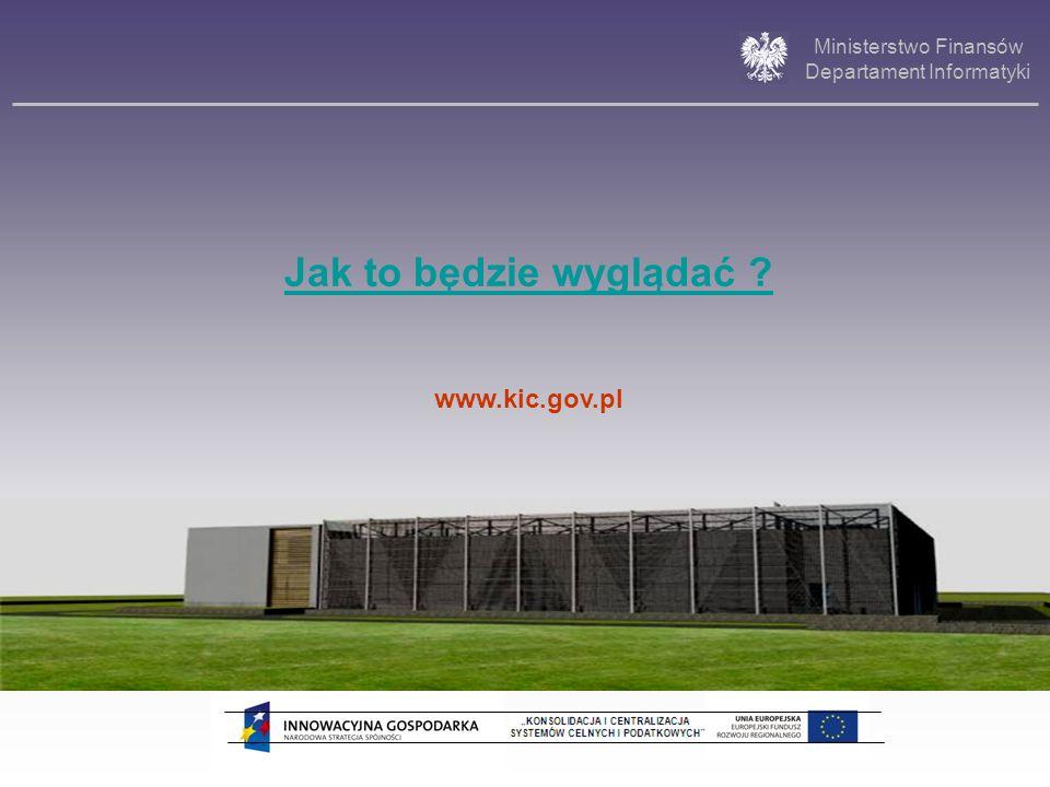 Jak to będzie wyglądać www.kic.gov.pl 21