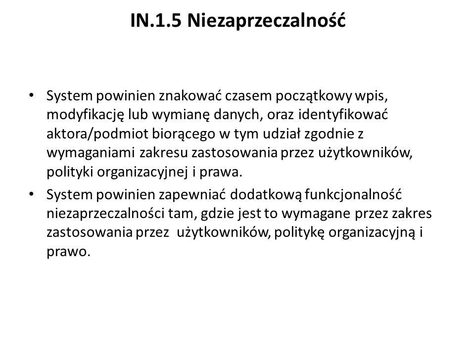 IN.1.5 Niezaprzeczalność