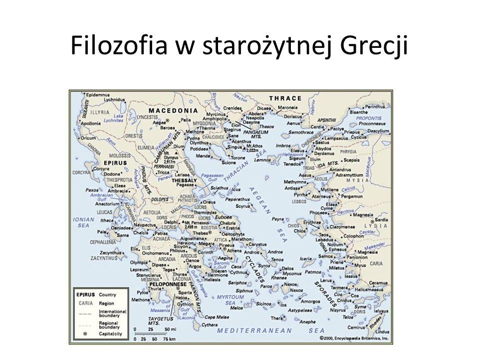 Filozofia w starożytnej Grecji