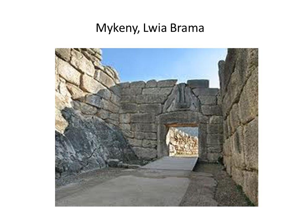Mykeny, Lwia Brama
