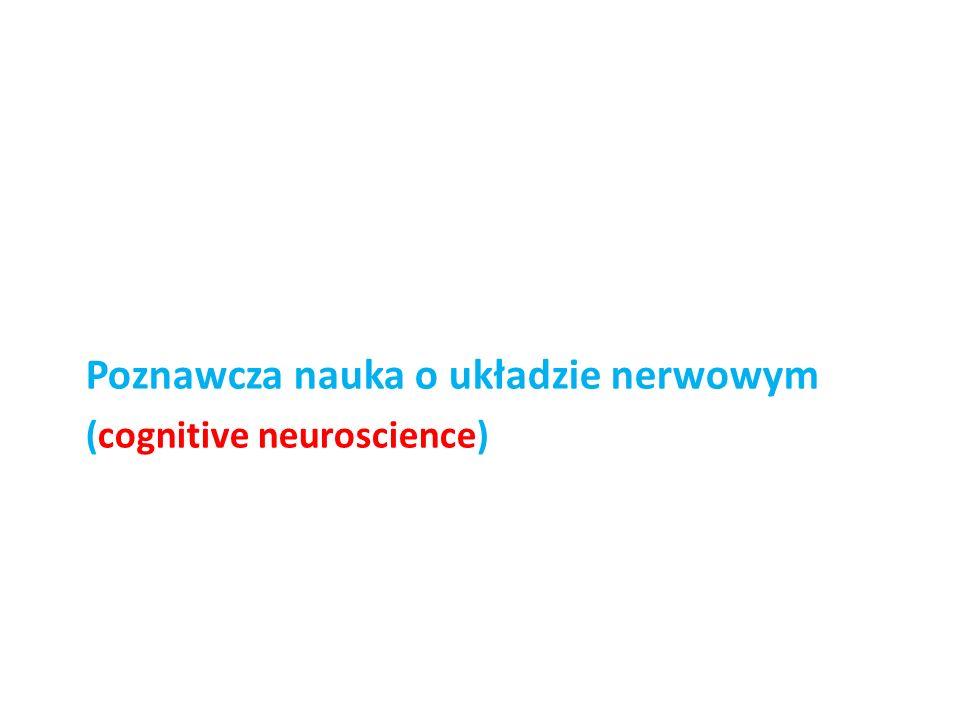 Poznawcza nauka o układzie nerwowym