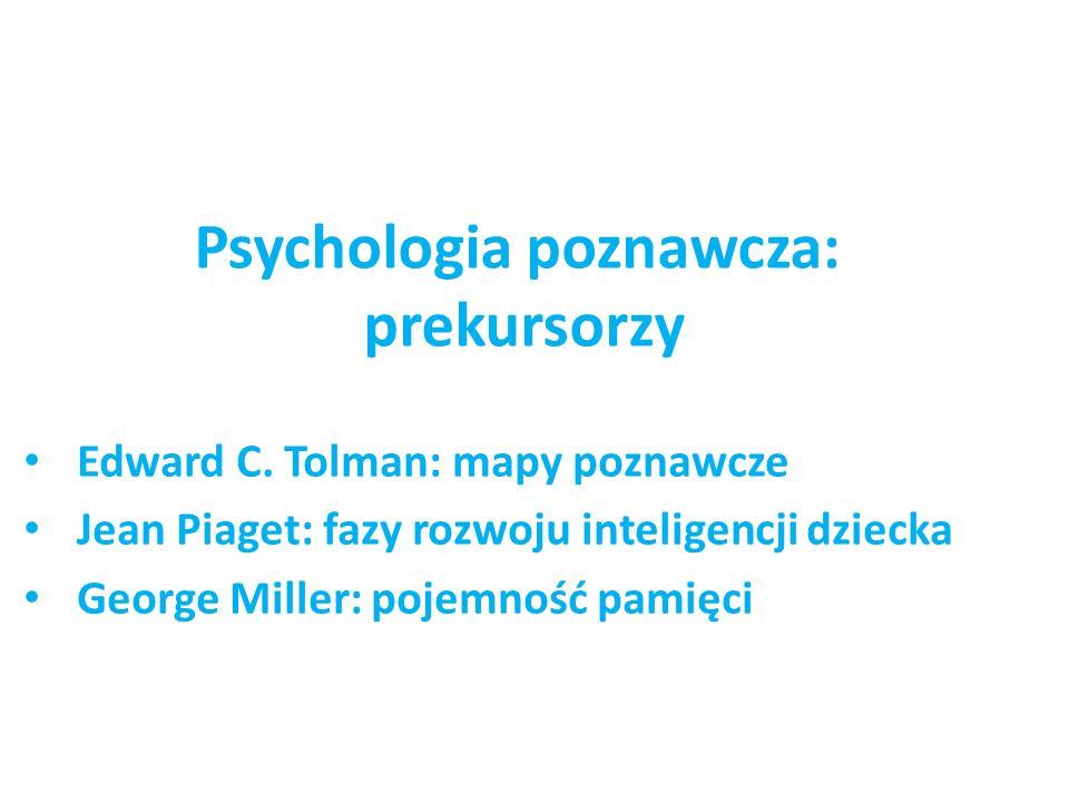 Psychologia poznawcza: prekursorzy