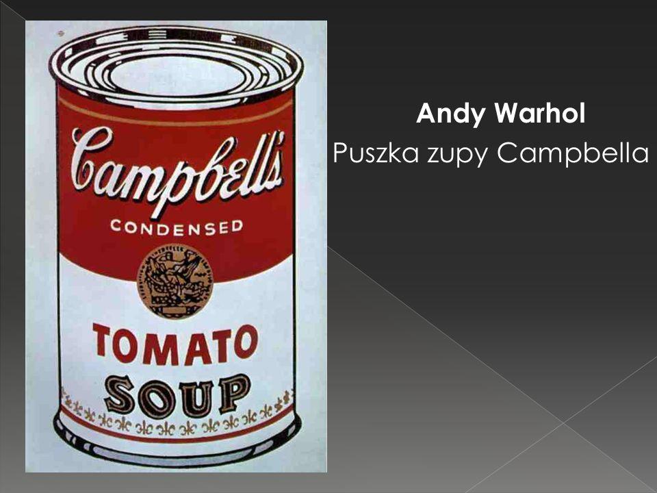 Andy Warhol Puszka zupy Campbella