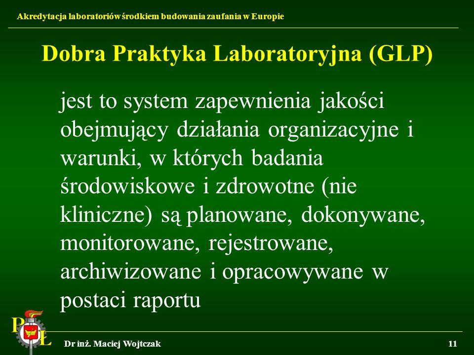 Dobra Praktyka Laboratoryjna (GLP)