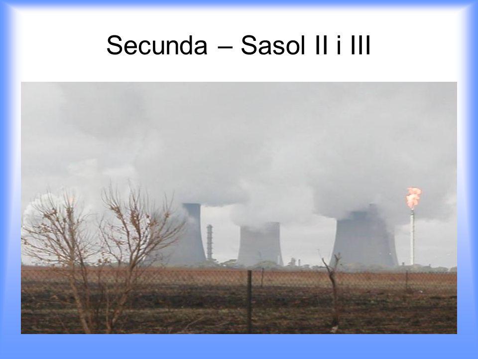 Secunda – Sasol II i III