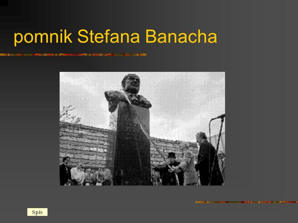 pomnik Stefana Banacha