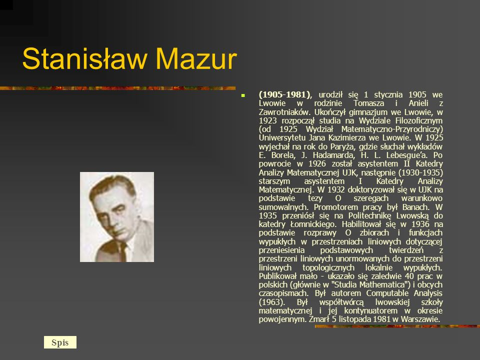 Stanisław Mazur