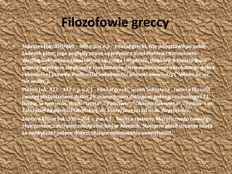 Filozofowie greccy
