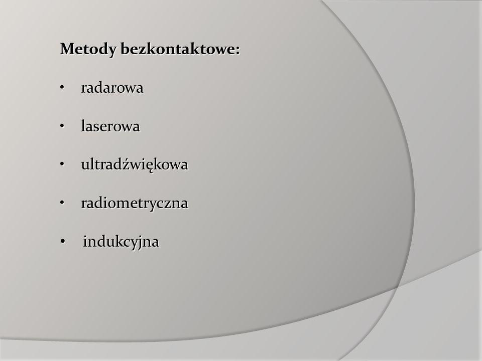 Metody bezkontaktowe:
