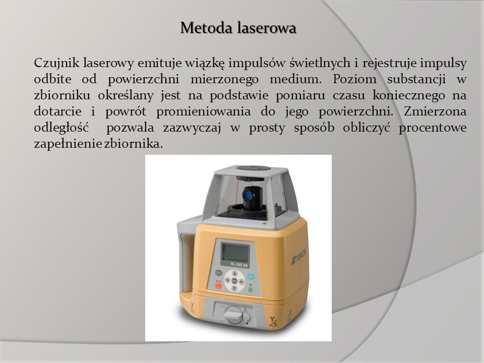 Metoda laserowa