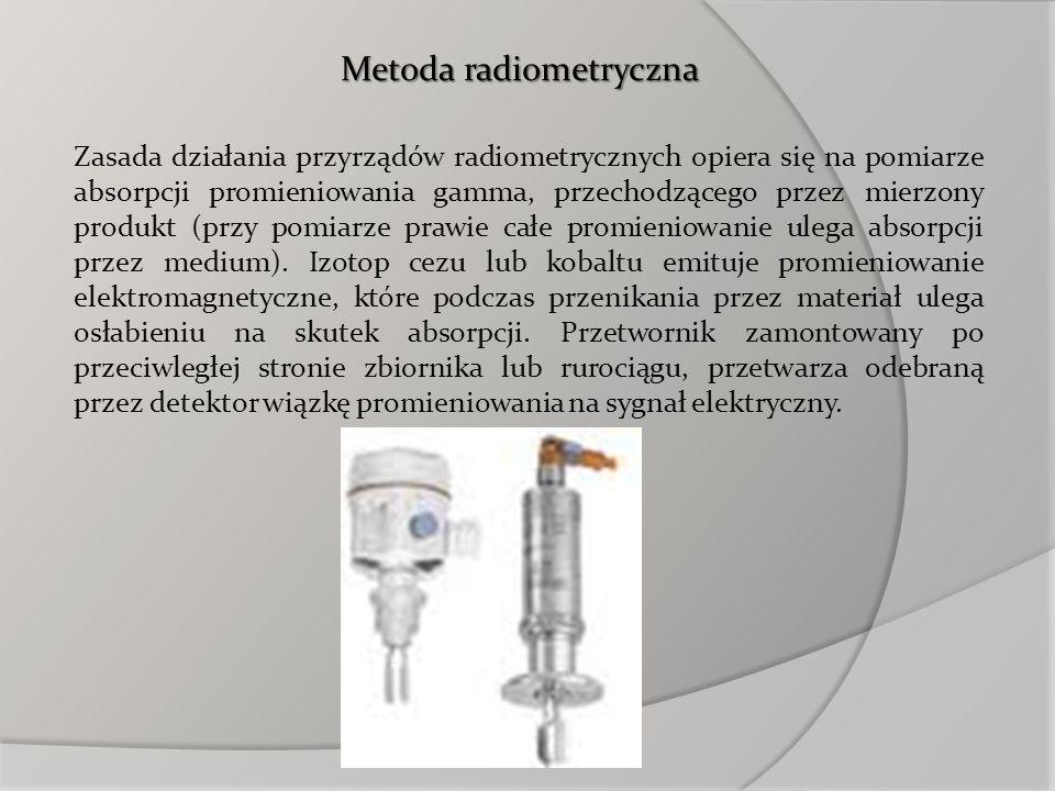 Metoda radiometryczna
