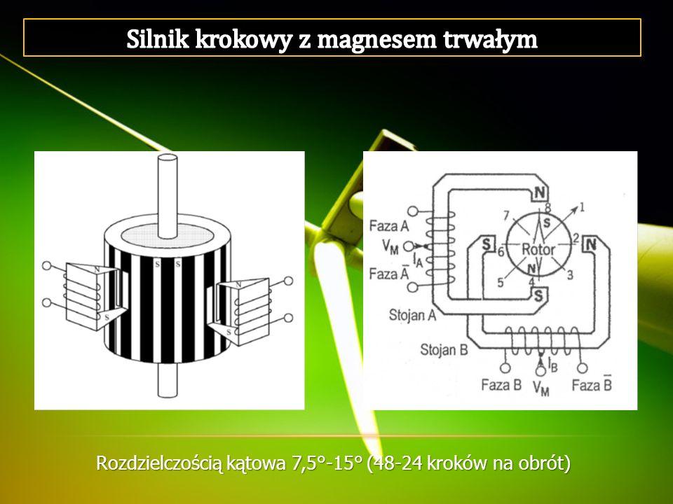 Silnik krokowy z magnesem trwałym
