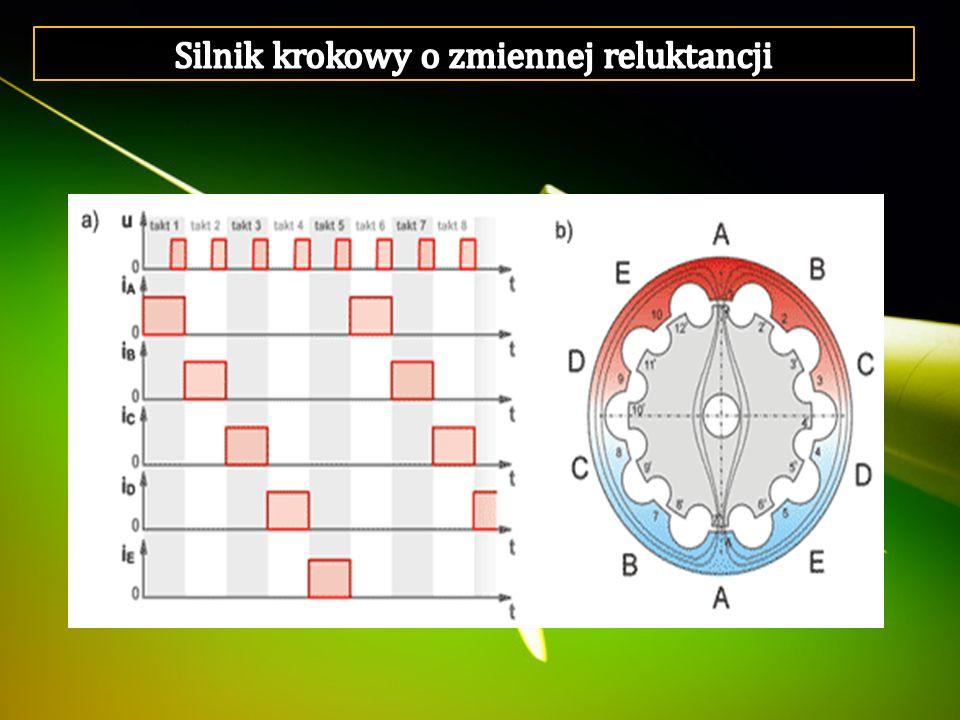 Silnik krokowy o zmiennej reluktancji