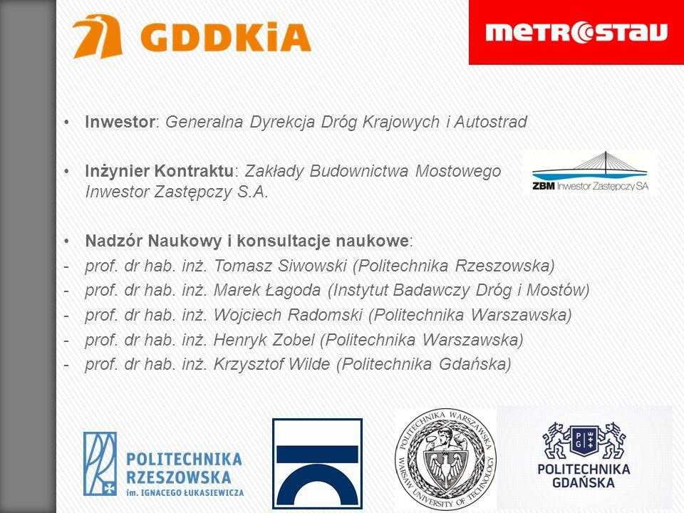 Inwestor: Generalna Dyrekcja Dróg Krajowych i Autostrad
