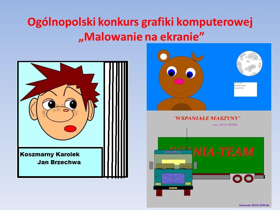 """Ogólnopolski konkurs grafiki komputerowej """"Malowanie na ekranie"""