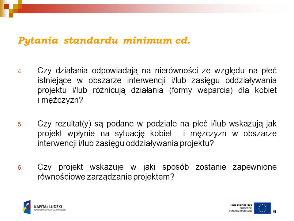 Pytania standardu minimum cd.