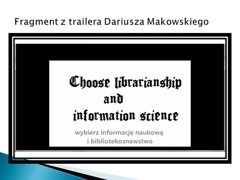 Fragment z trailera Dariusza Makowskiego