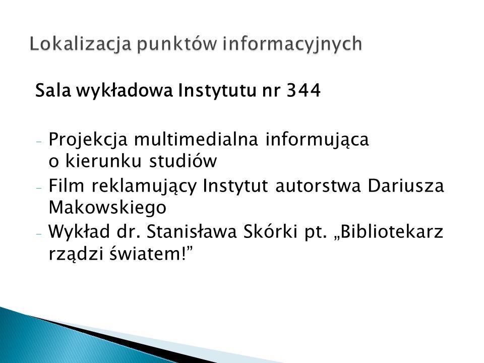 Lokalizacja punktów informacyjnych