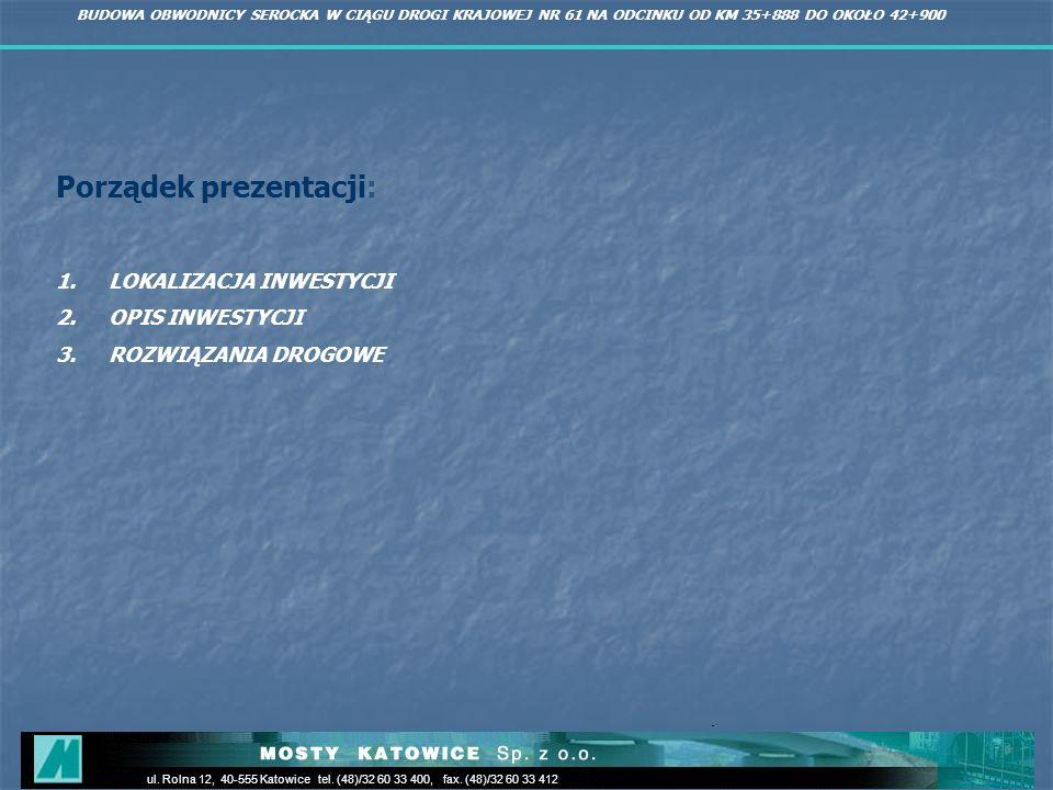 Porządek prezentacji: