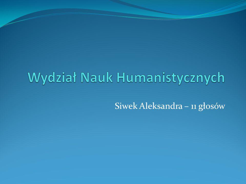 Wydział Nauk Humanistycznych