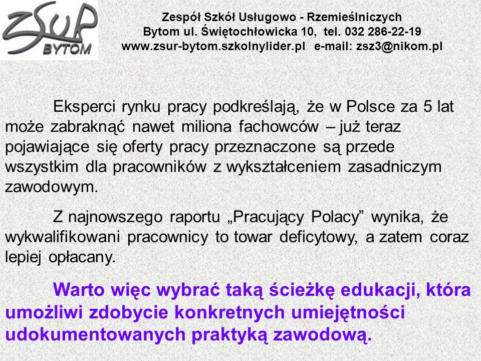 Zespół Szkół Usługowo - Rzemieślniczych Bytom ul