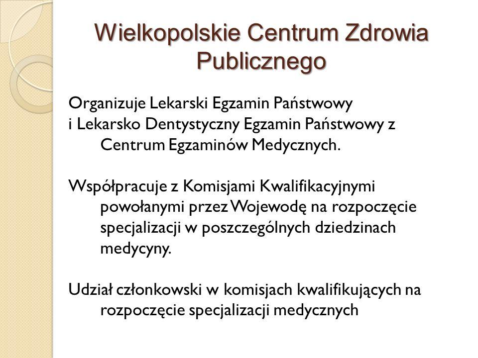 Wielkopolskie Centrum Zdrowia Publicznego