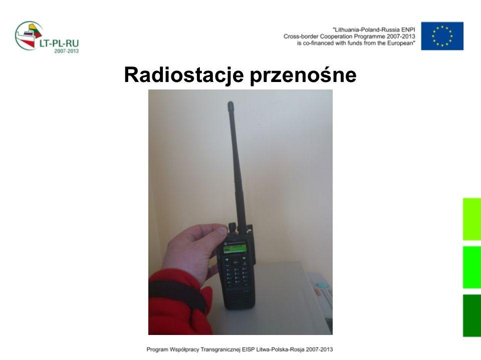 Radiostacje przenośne