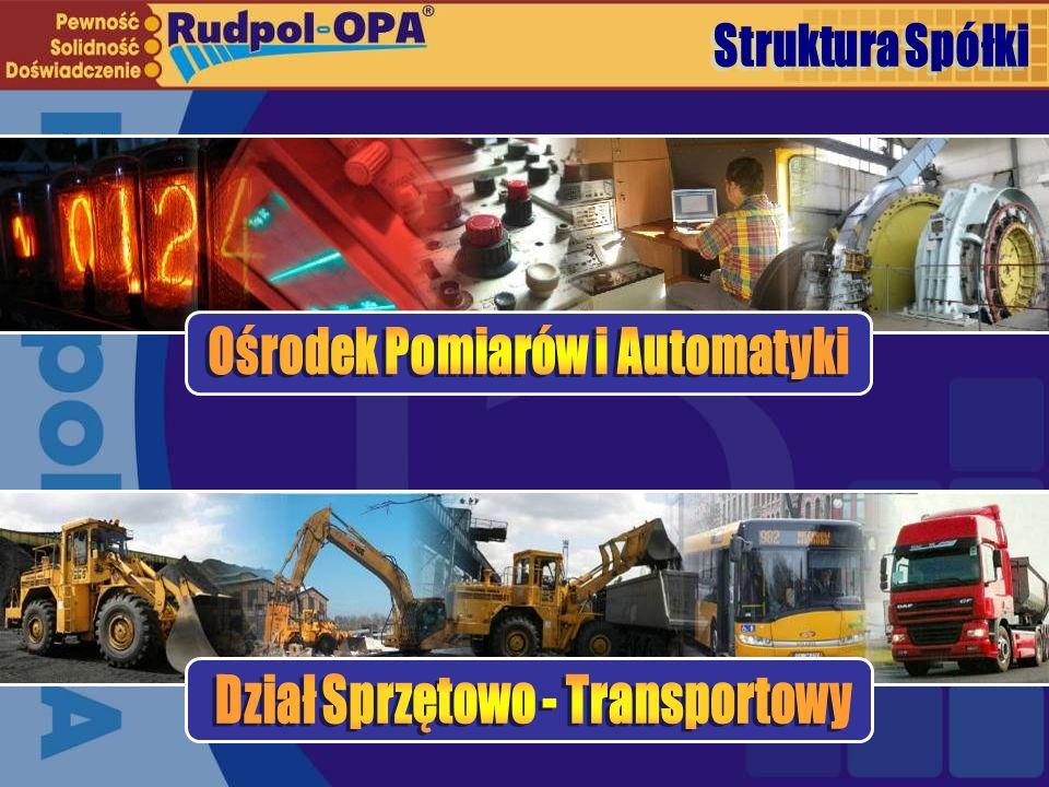 Ośrodek Pomiarów i Automatyki Dział Sprzętowo - Transportowy