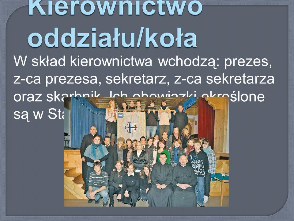 Kierownictwo oddziału/koła