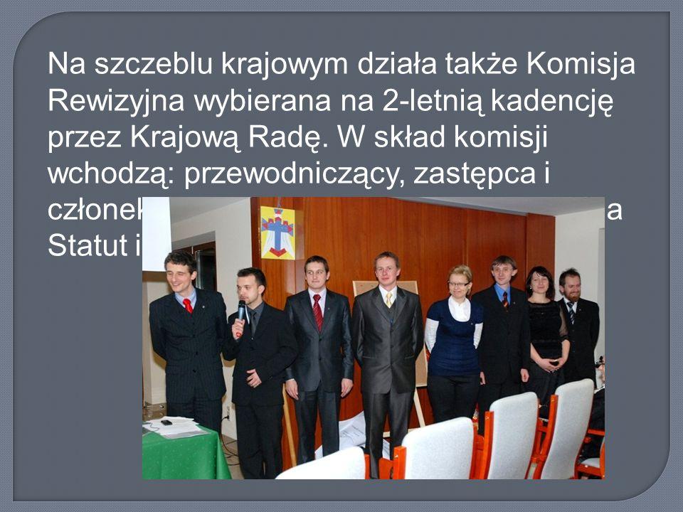 Na szczeblu krajowym działa także Komisja Rewizyjna wybierana na 2-letnią kadencję przez Krajową Radę.